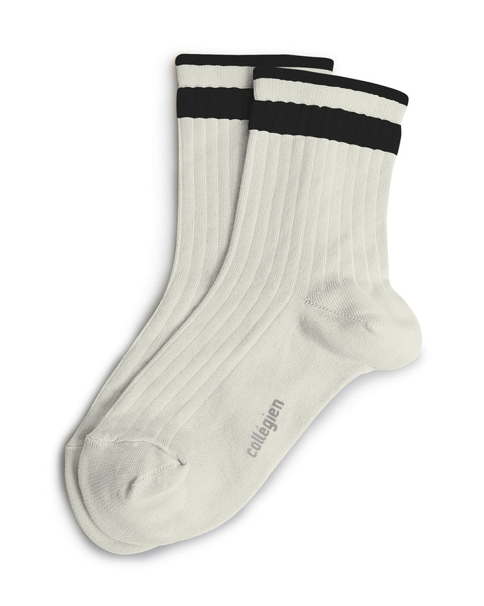 Collegien Accessories Mousseline / 36/38 C/S Varsity Ankle Sock
