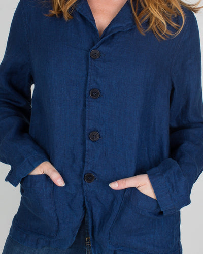 CP Shades Clothing Bee Jacket in Indigo Twill