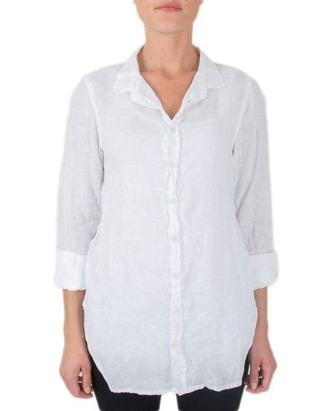 CP Shades Clothing White / XS Carine in White Linen