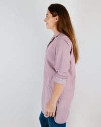 CP Shades Clothing Cecelia Blouse in Hyacinth Micro Cord