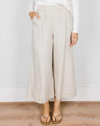 CP Shades Clothing Cropped Wendy Pant in Bone