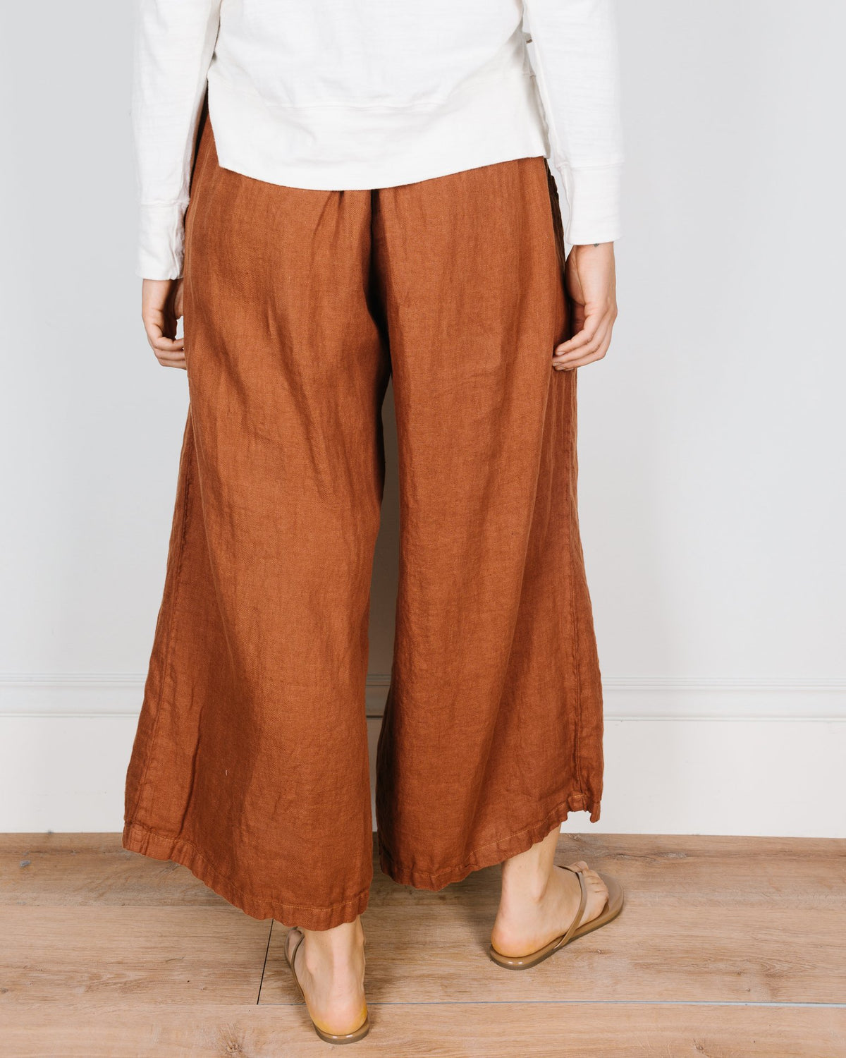 CP Shades Clothing Cropped Wendy Pant in Pluot