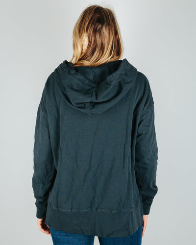 CP Shades Clothing Ellie Cotton Fleece Hoodie in River Rock