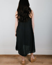 CP Shades Clothing Fairie Dress in Black Cotton Silk