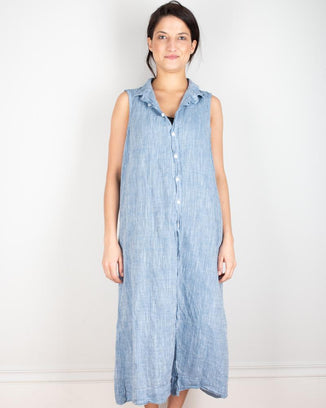 CP Shades Clothing Florance Dress in Cotton Chambray