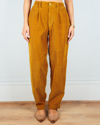 CP Shades Clothing Dijon / XS Ginger Tapered Pant in Dijon Wide Wale Cord