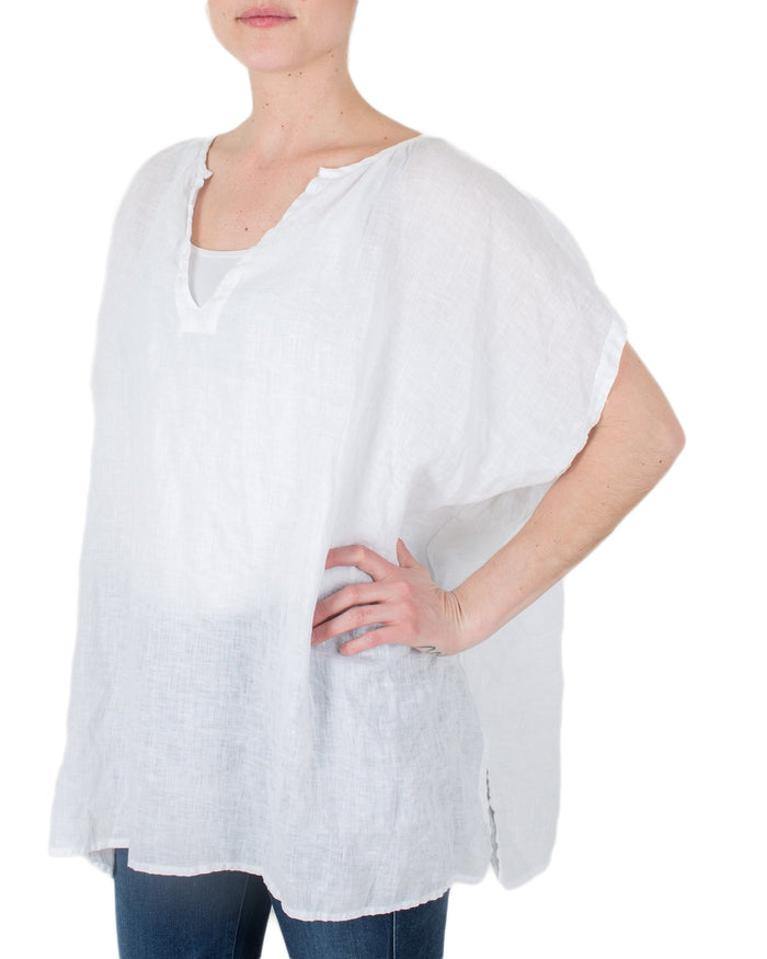 CP Shades Clothing White / XS Jess Extra Boxy Top