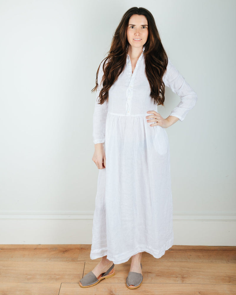 CP Shades Clothing Justine Dress in White