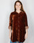 CP Shades Clothing Marella Tunic Blouse in Pluot Silk Velvet
