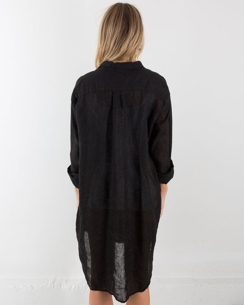 CP Shades Clothing Black / XS Mari Oversized Shirtdress
