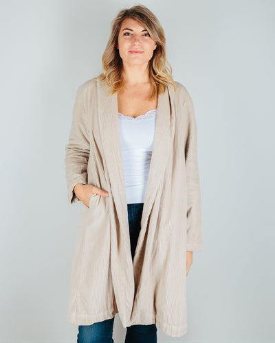 CP Shades Clothing Oat / M Marian Wide Wale Cord Coat in Oat