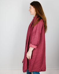 CP Shades Clothing Marian Wool Coat in Rosewood