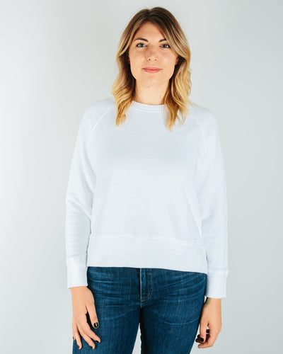 CP Shades Clothing White / XS Roxy Heavy Knit Cropped Raglan