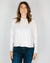 CP Shades Clothing Roxy Knit Cropped Raglan in Ivory