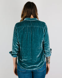 CP Shades Clothing Sloane Blouse in Tunis Silk Velvet