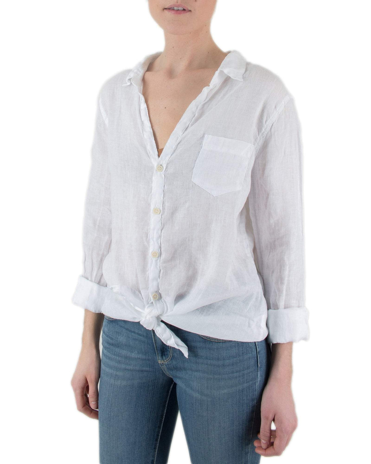 CP Shades Clothing White / XS Sloane Blouse