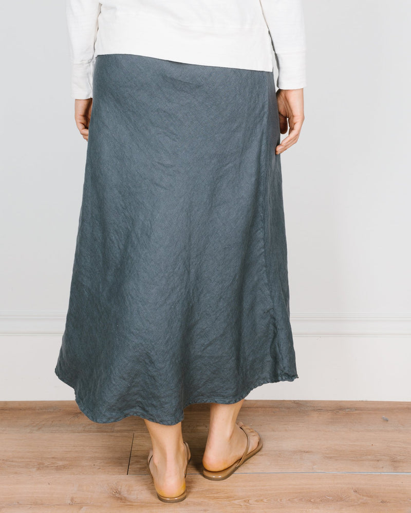 CP Shades Clothing Tanya Bias Cut Skirt in Mood Linen Twill