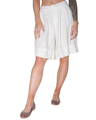 CP Shades Clothing White / XS Taylor Short in White HW Linen Twill
