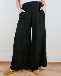 CP Shades Clothing Black / XS Wendy Pant in Black Heavy Weight Linen