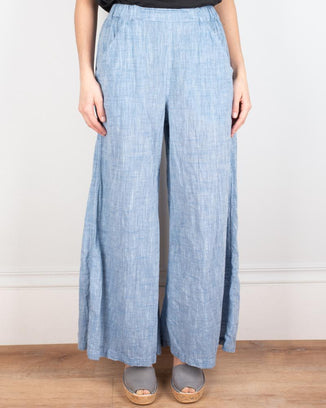 CP Shades Clothing Chambray / XS Wendy Pant in Cotton Chambray