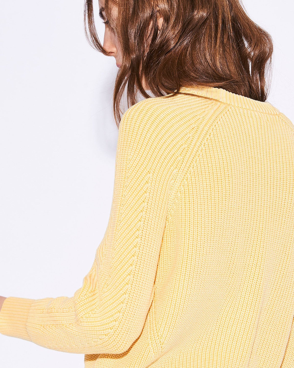 Demylee Clothing Chelsea Raglan Sweater in Daffodil