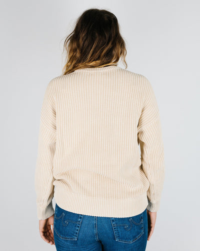 Demylee Clothing Constancia Sweater in Vanilla