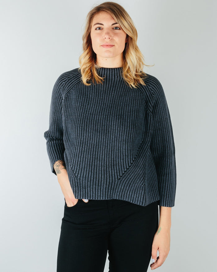 Demylee Clothing Black / XS Daphne Raglan Sweater