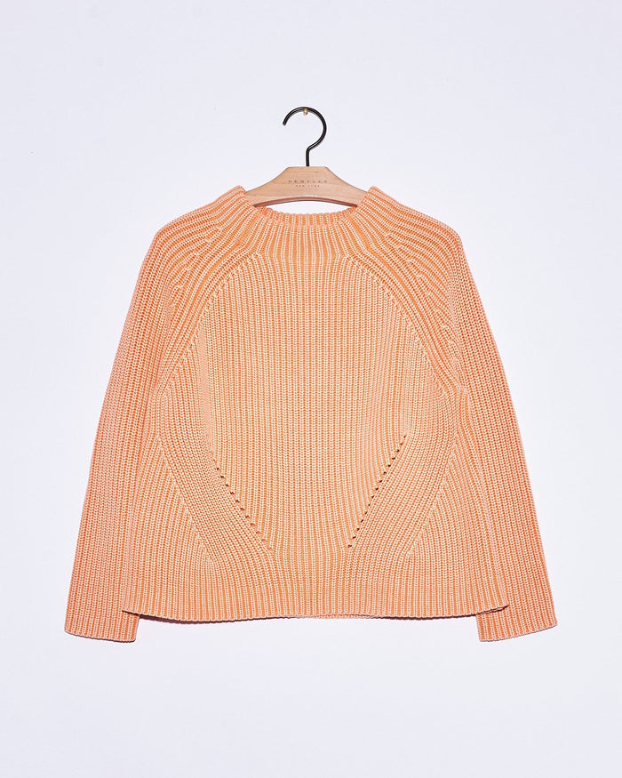 Demylee Clothing Cantaloupe / XS Daphne Raglan Sweater in Cantaloupe