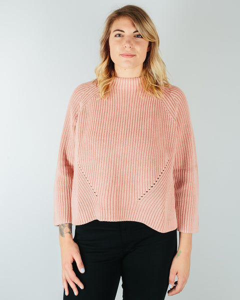 Demylee Clothing Rose Pink / XS Daphne Raglan Sweater