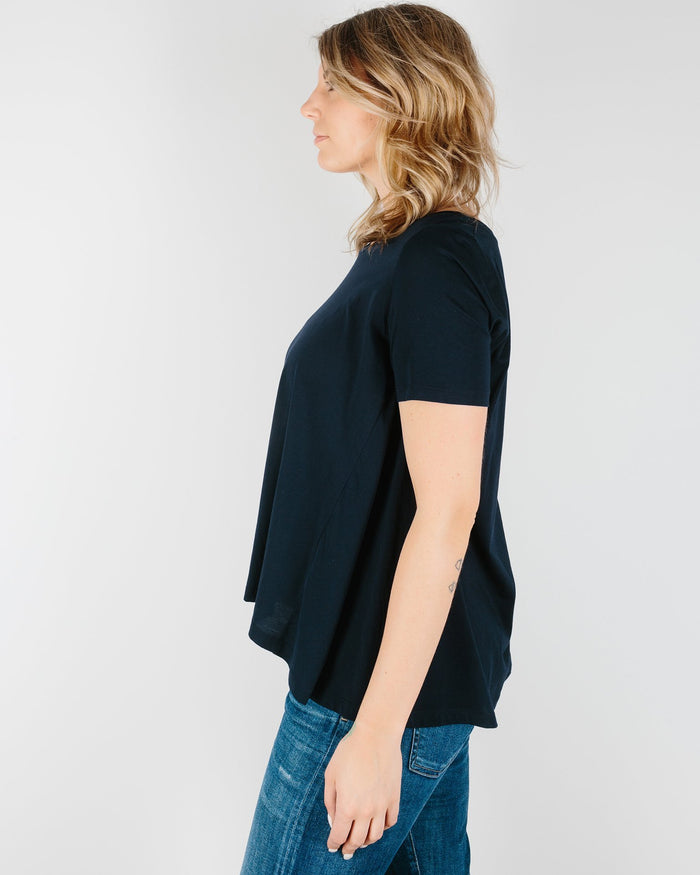 Demylee Clothing Navy / XS Monroe Top