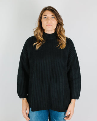Demylee Clothing Sharon Sweater in Black