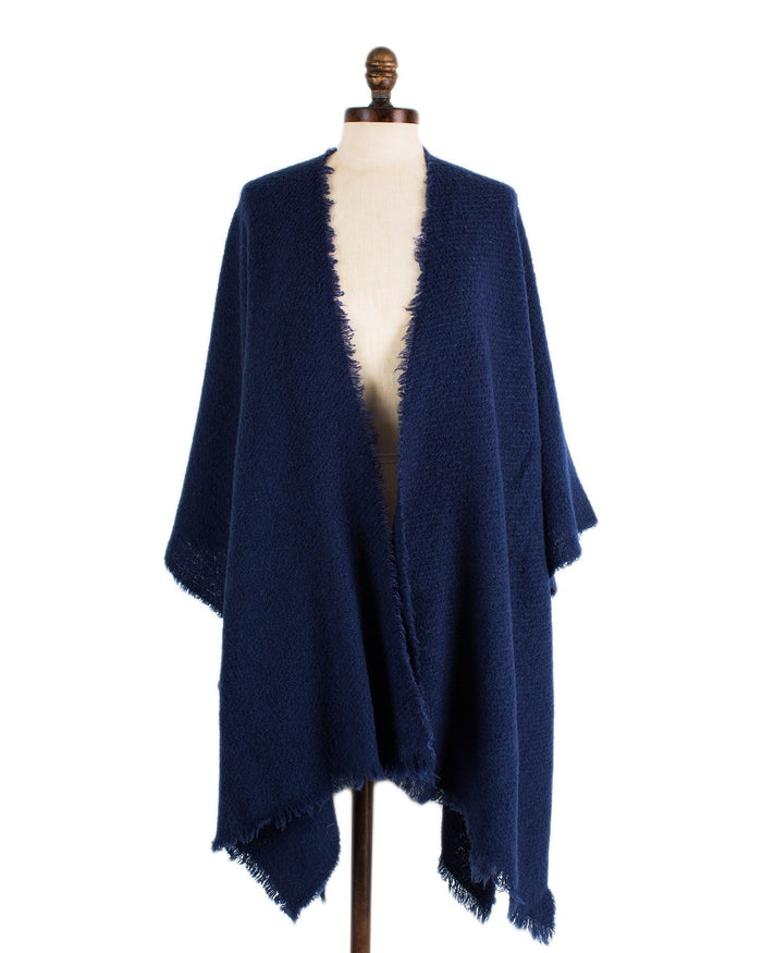 Destin Accessories Navy / O/S Buddy Cape