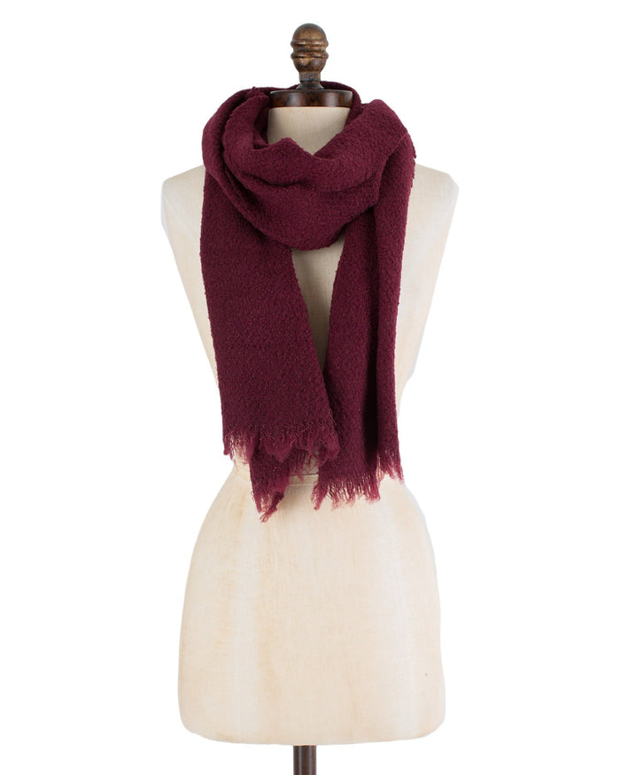 Destin Accessories Burgundy / O/S Buddy Scarf
