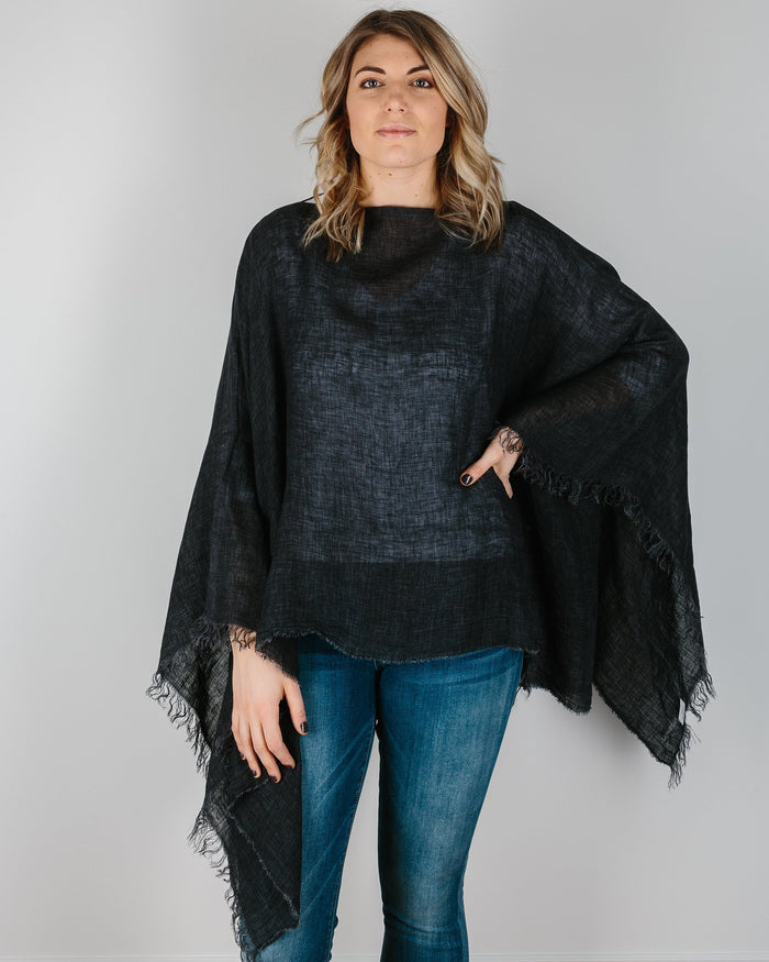 Destin Accessories Black / O/S The Poncho