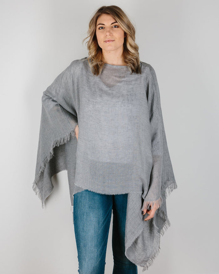 Destin Accessories Grey / O/S The Poncho