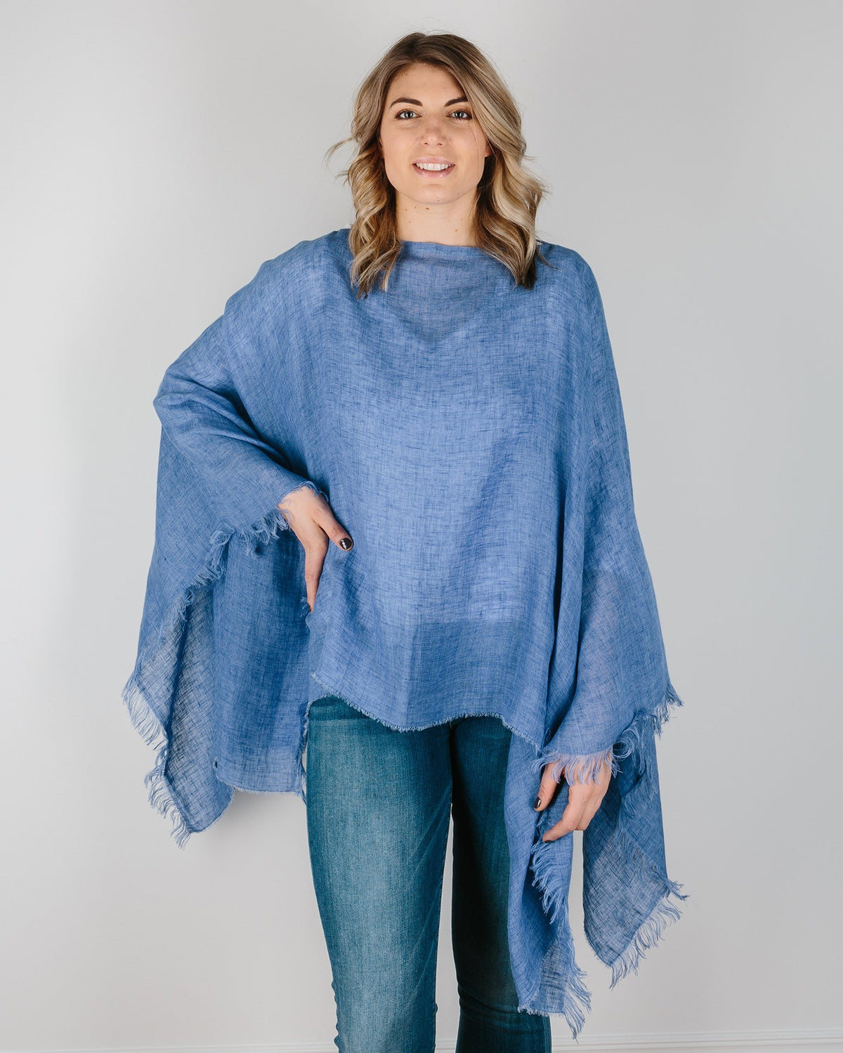 Destin Accessories Jeans / O/S The Poncho
