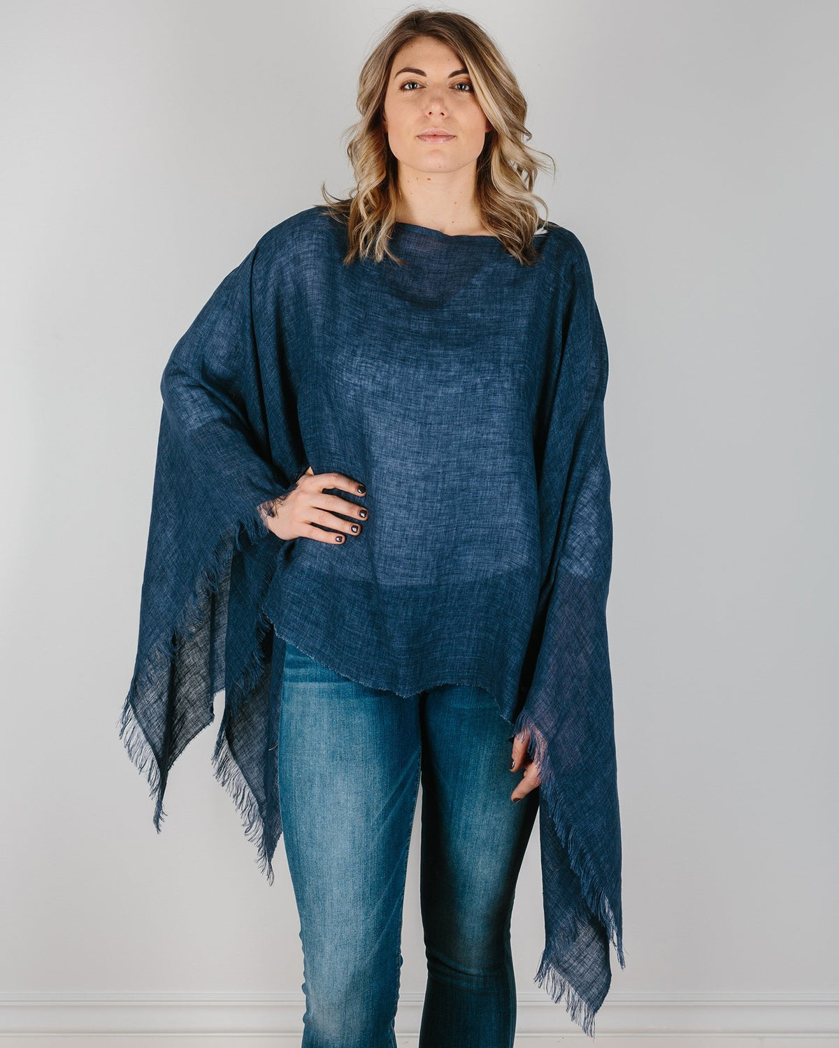 Destin Accessories Navy / O/S The Poncho