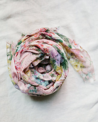 Épice Accessories O/S / Rose Fleur 1 Scarf in Rose