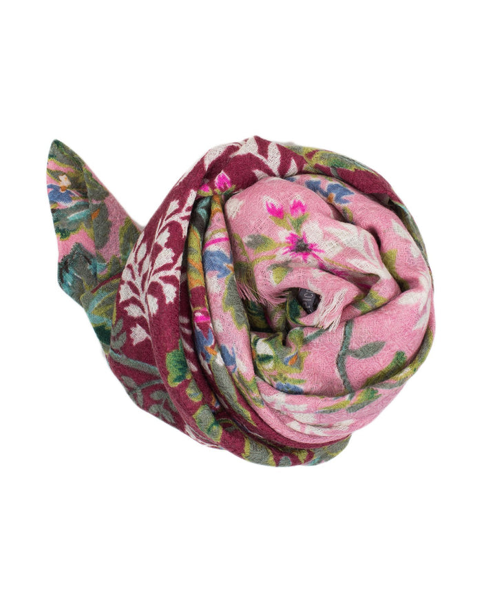 Épice Accessories Bourgogne / O/S Fleur 2 Scarf in Bourgogne