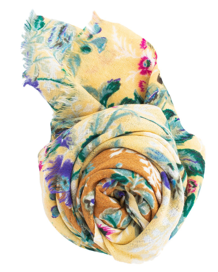 Épice Accessories Golden / O/S Fleur 2 Scarf in Golden