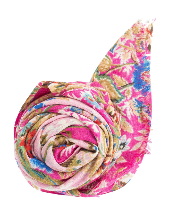 Épice Accessories Orchid / O/S Fleur 2 Scarf in Orchid
