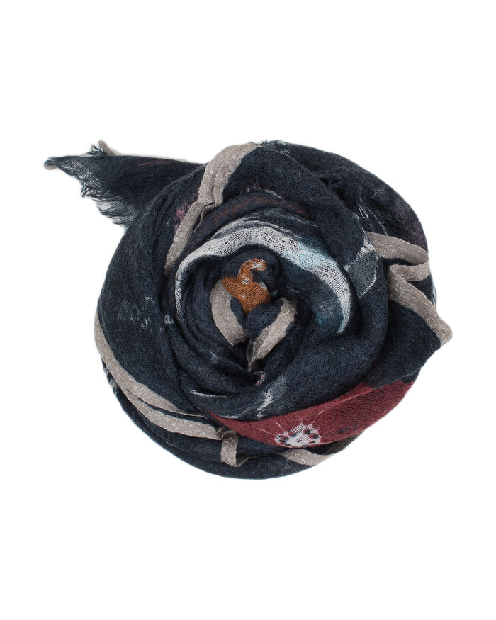 Épice Accessories Midnight / O/S Floral Scarf