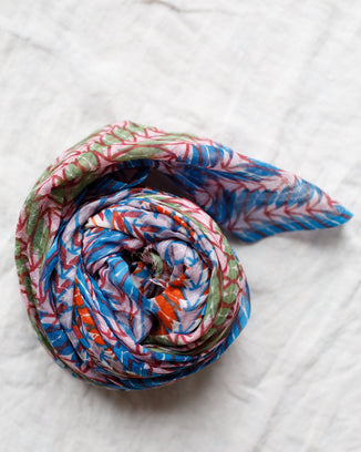 Épice Accessories Leaves Scarf in Ginger