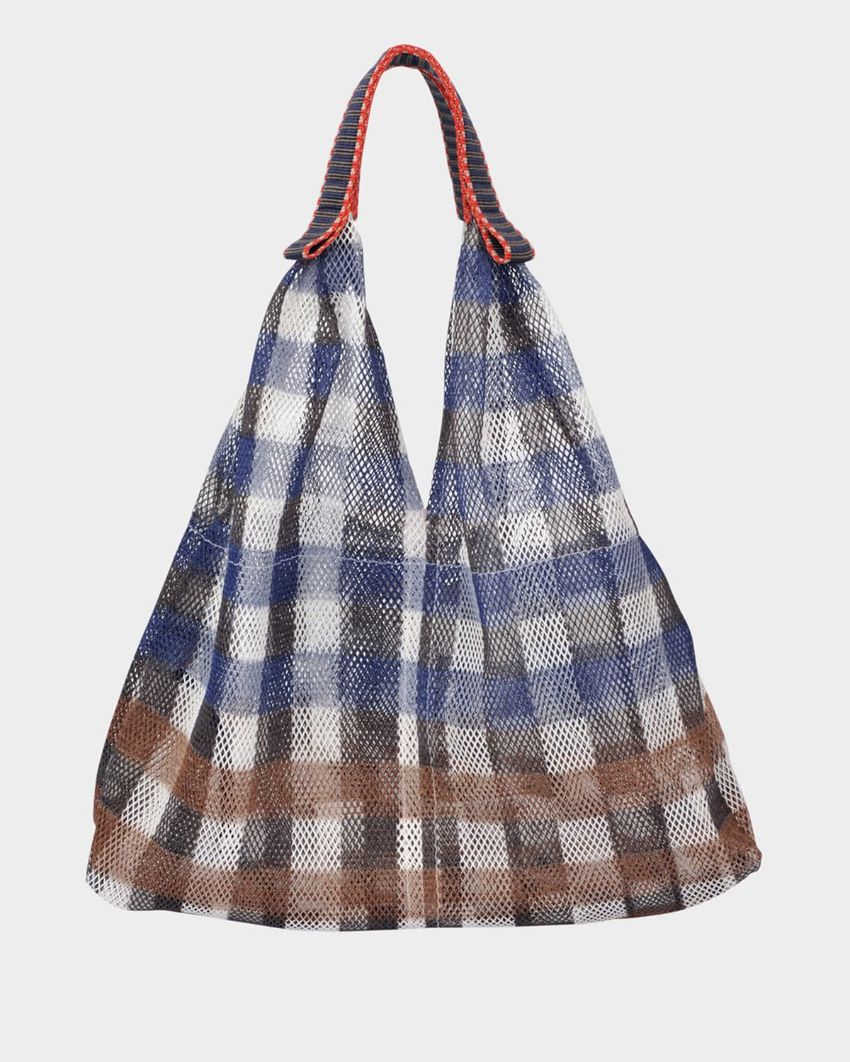 Épice Accessories Plaid Sac in Ultramarine