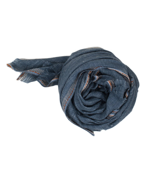 Épice Accessories Denim / O/S Solid Scarf