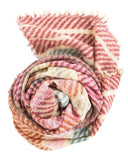 Épice Accessories Marron / O/S Stripe Scarf in Marron