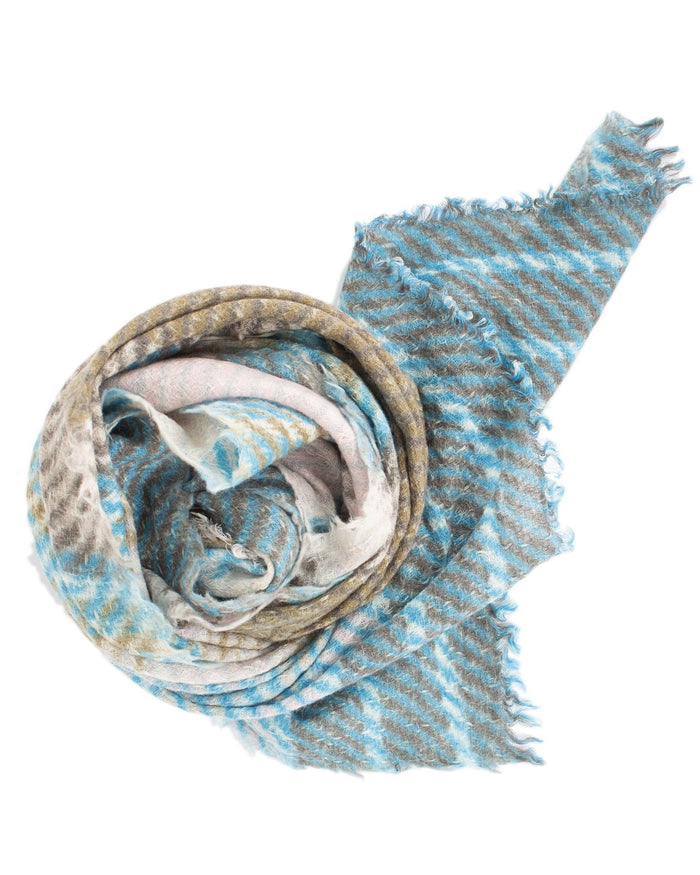 Épice Accessories River / O/S Stripe Scarf in River