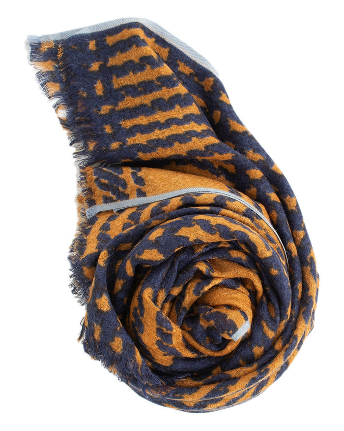 Épice Accessories Golden / O/S Tweed Check Scarf in Golden