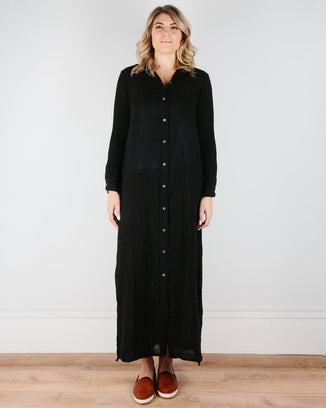 Felicite Apparel Clothing Black / XS Boyfriend Maxi Dress