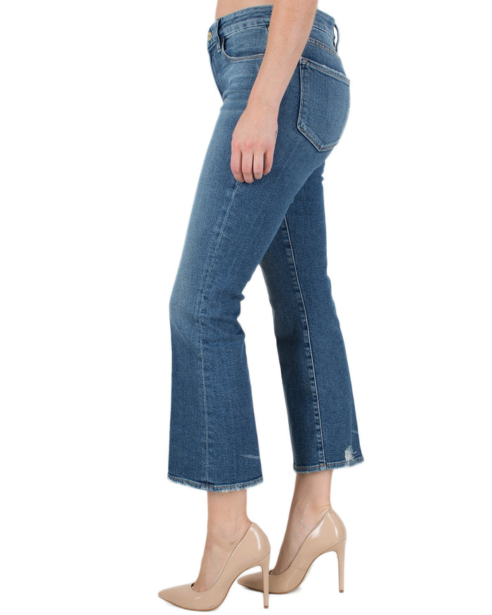 Frame Denim Elmont / 24 Le Crop Mini Boot